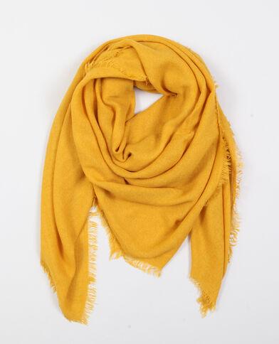 Foulard sottile giallo