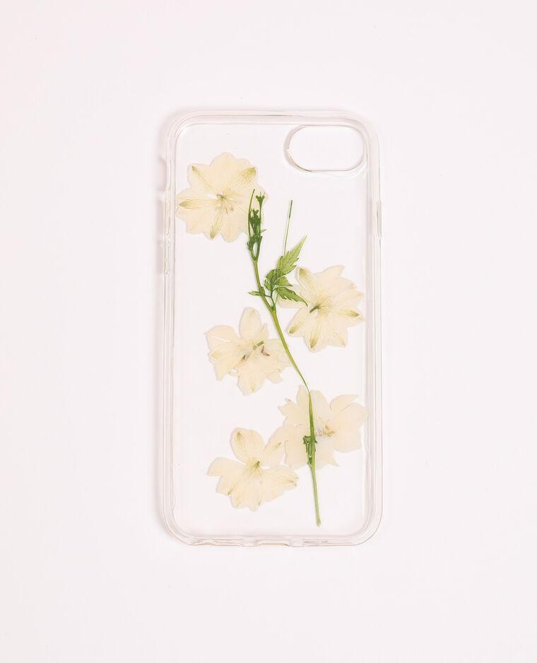 Custodia compatibile con iPhone bianco