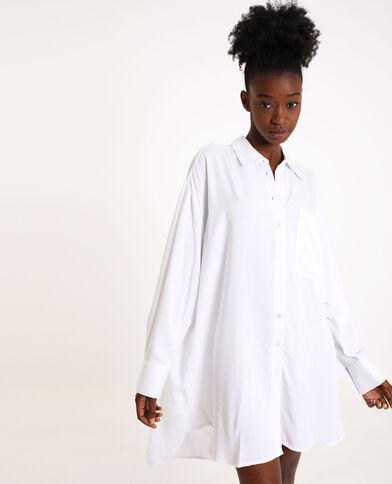Camicia oversize bianco