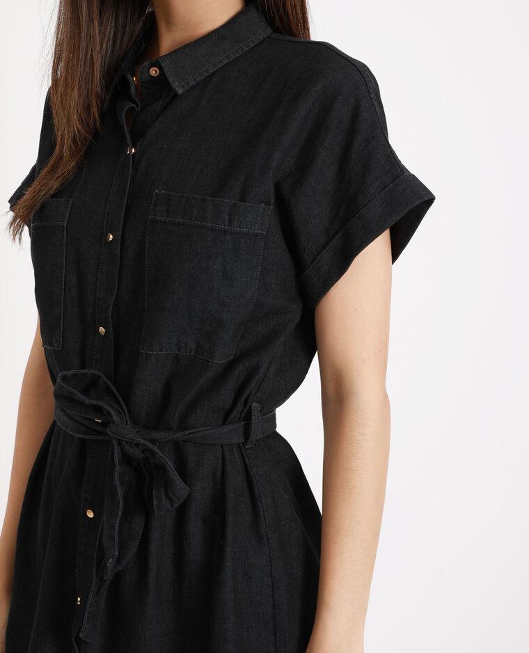 Abito camicia nero
