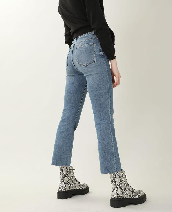 Jeans bootcut high waist blu denim - Pimkie