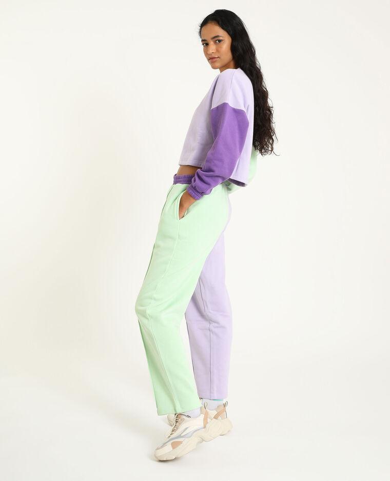 Pantalone da jogging viola