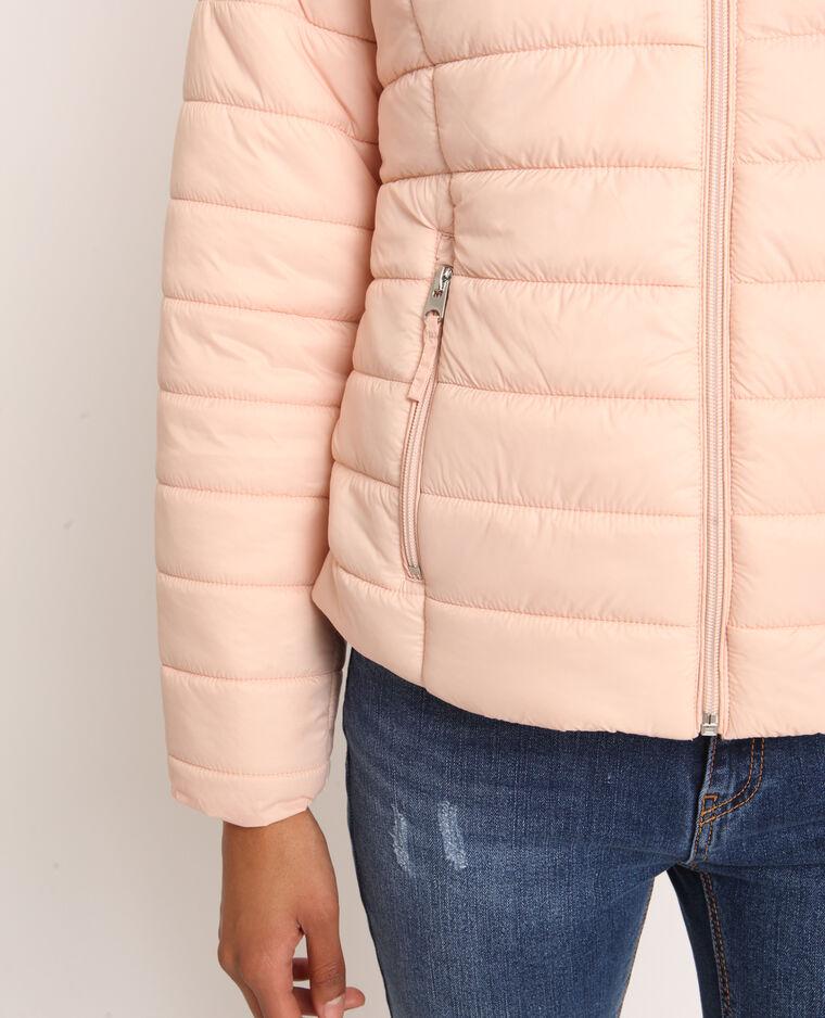 Piumino leggero rosa cipria