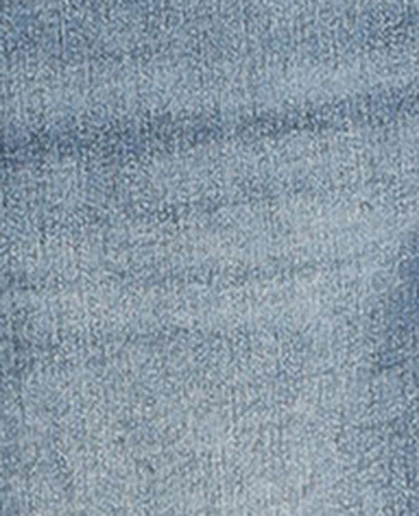 Jeans skinny push up mid waist blu denim