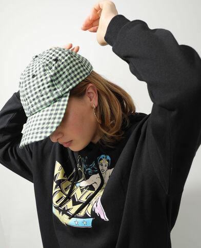 Cappellino Vichy verde - Pimkie