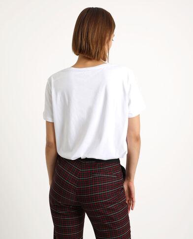 T-shirt INFLUENCER bianco