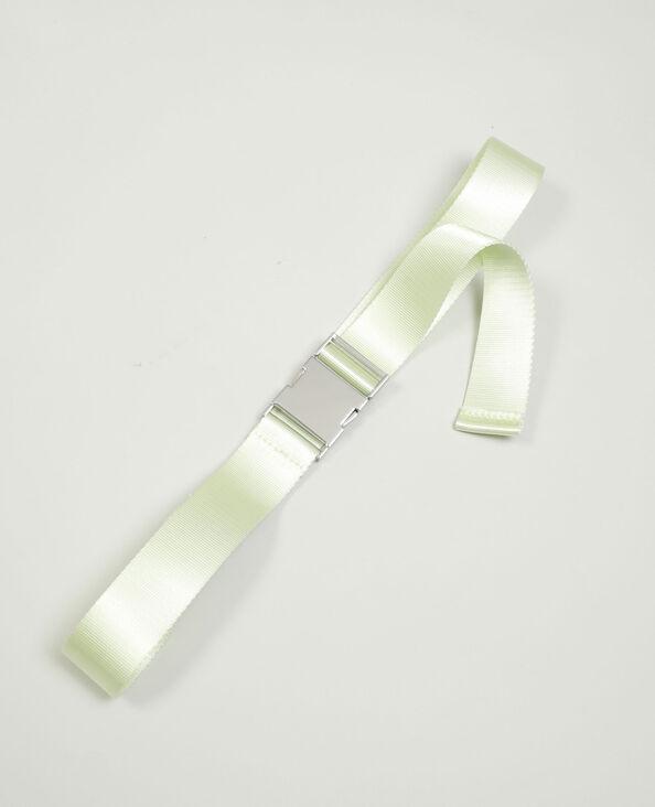 Cintura con clip verde acqua - Pimkie
