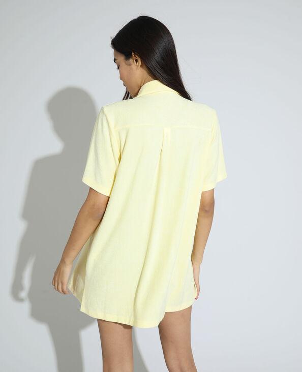 Camicia in spugna giallo - Pimkie