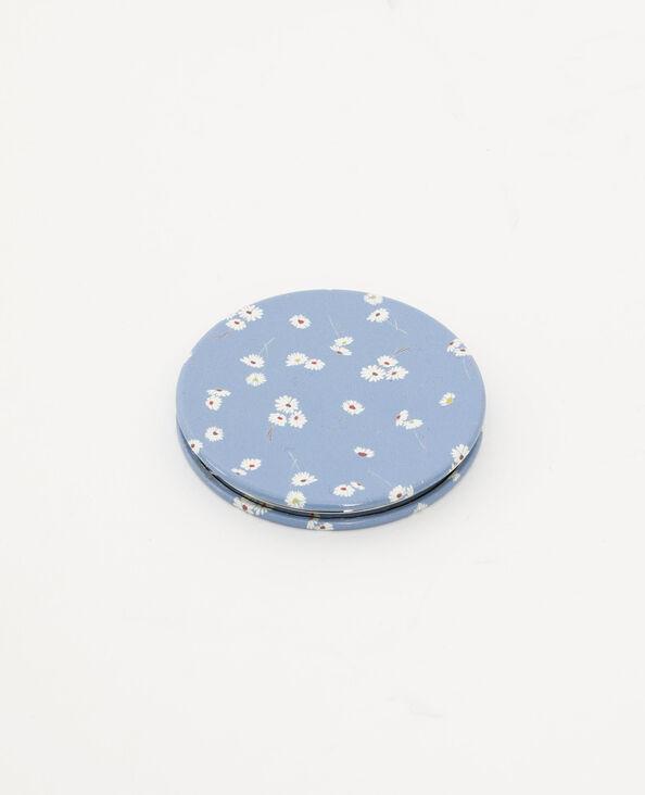 Specchio tascabile blu