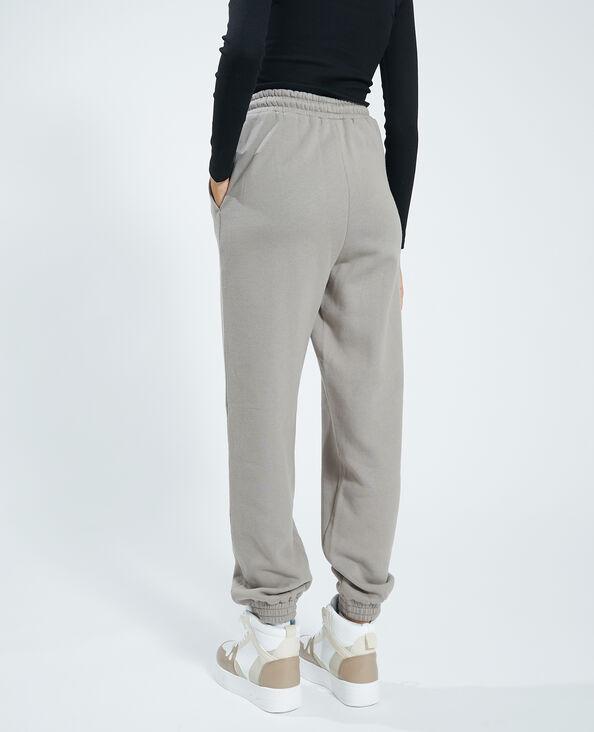 Pantalone in cotone felpato topo - Pimkie