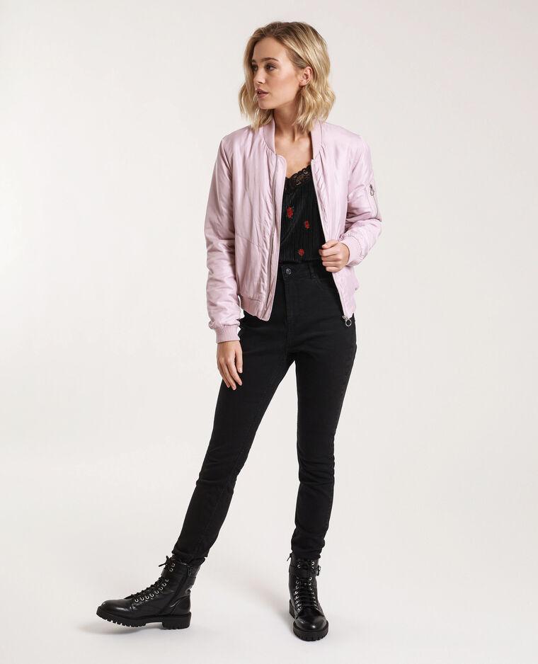 Jeans skinny high waist nero