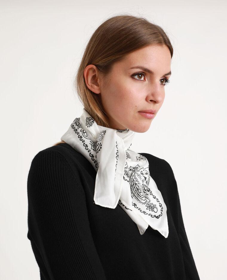 Foulard bandana bianco