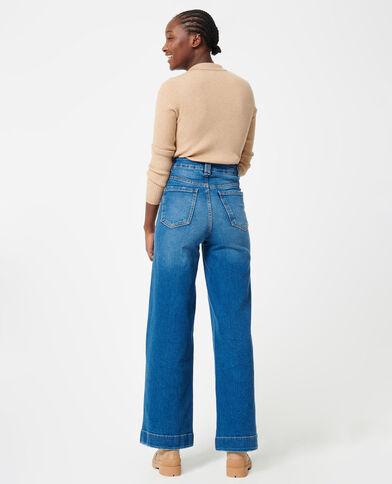 Jeans wide blu denim - Pimkie