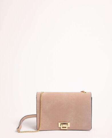Piccola borsa a tracolla rosa