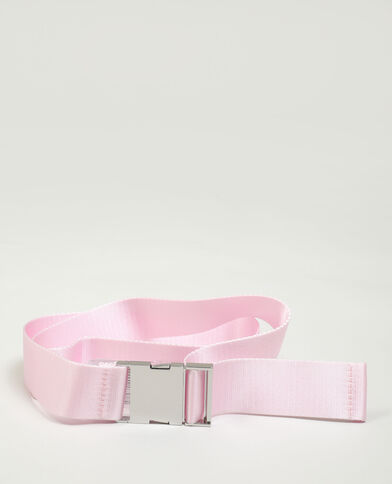 Cintura con clip rosa cipria - Pimkie