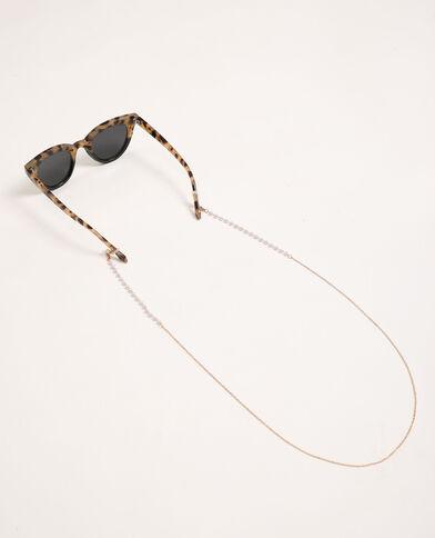 Catenella per occhiali dorato