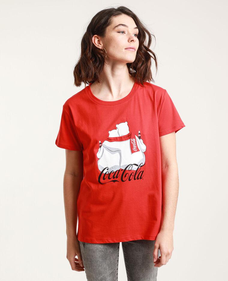 T-shirt Coca Cola rosso