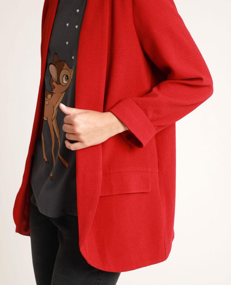 Blazer sottile Rosso