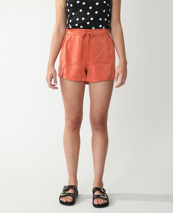 Short satinato arancio - Pimkie