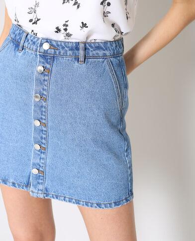 Gonna in jeans blu