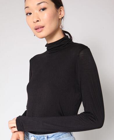 T-shirt Dolcevita nero