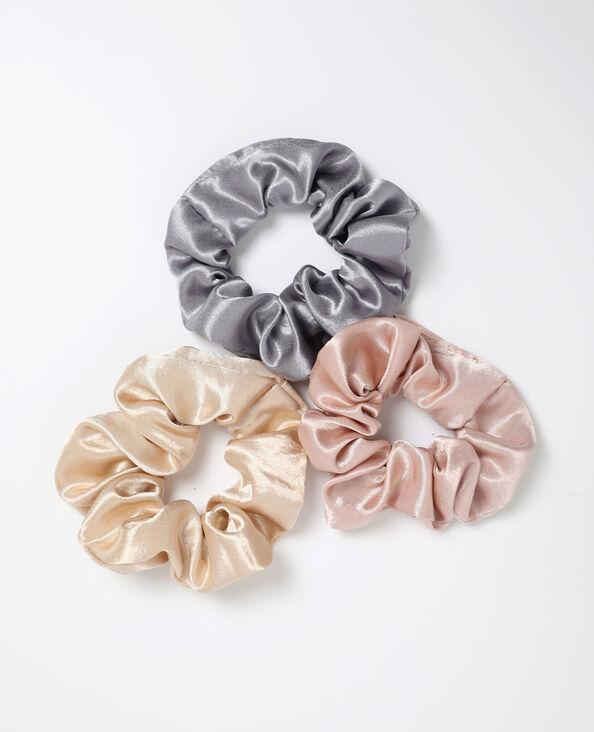 Lotto da 3 elastici rosa