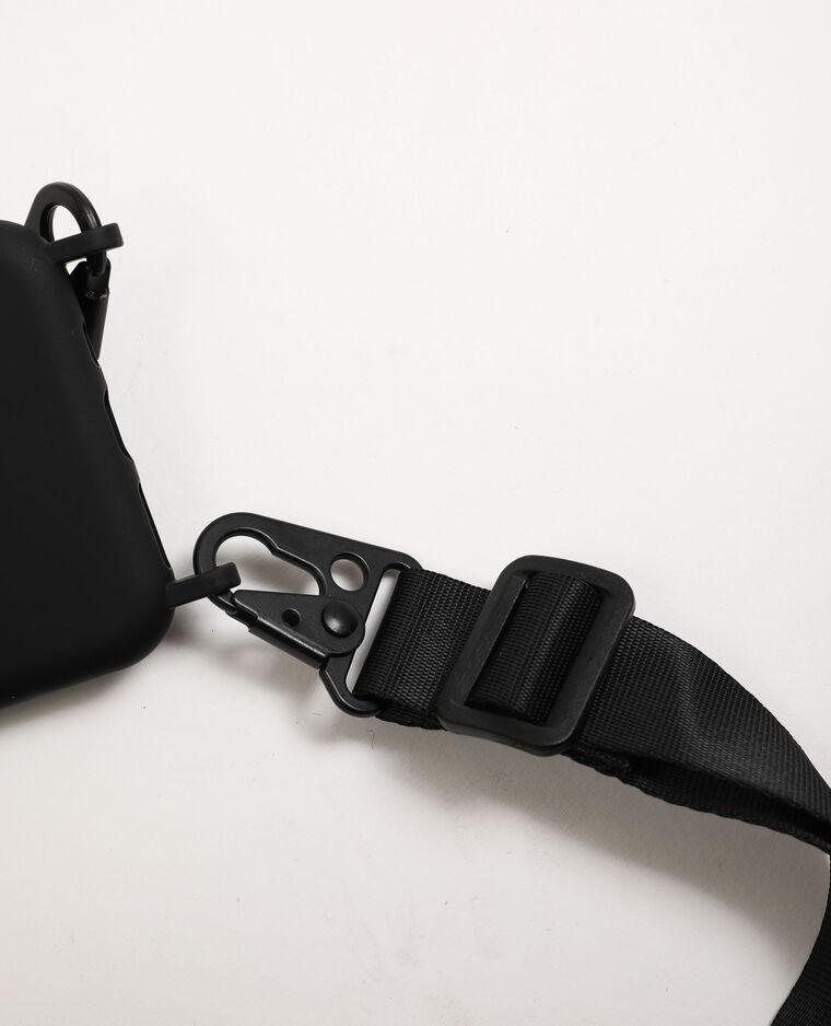 Custodia con tracolla compatibile con iPhone nero - Pimkie