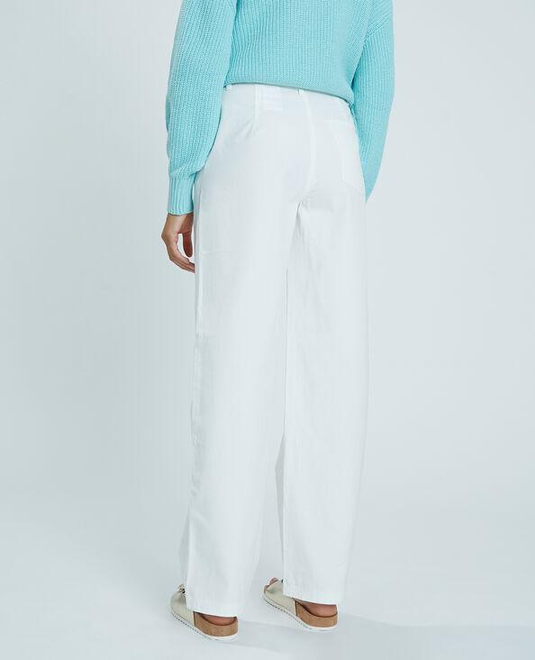 Pantalone in tela bianco - Pimkie
