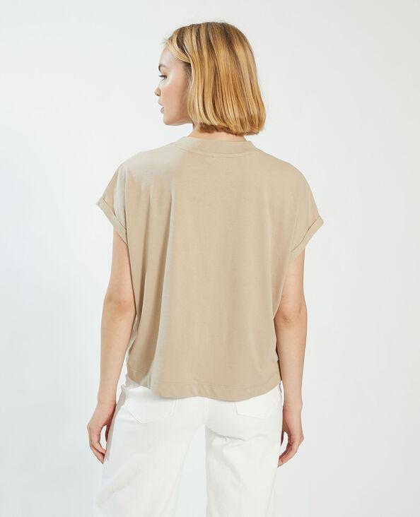 T-shirt oversize marrone - Pimkie