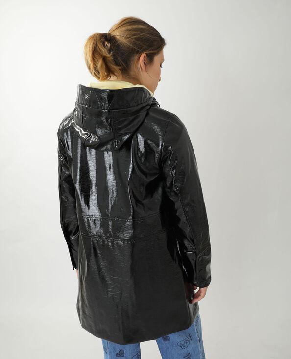 Cappotto impermeabile nero