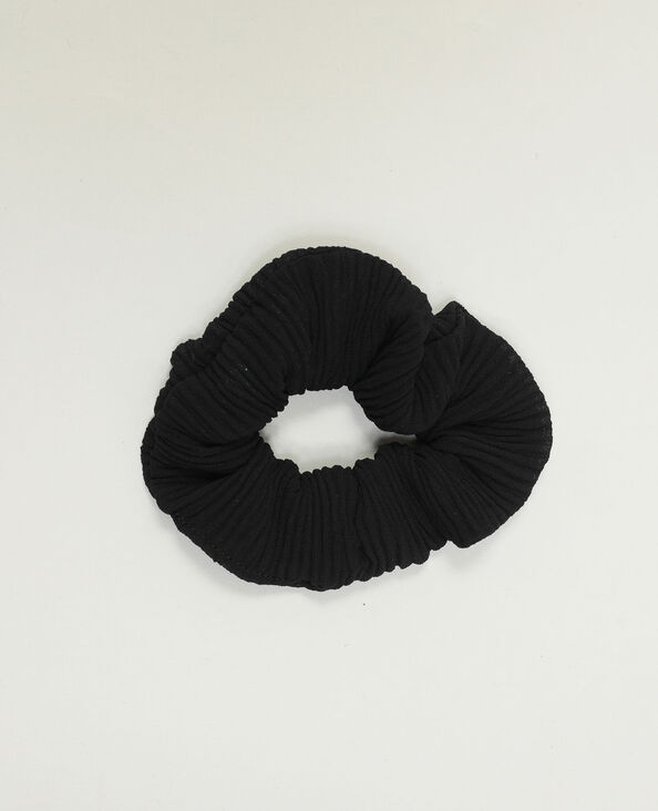 Elastico arricciato nero - Pimkie