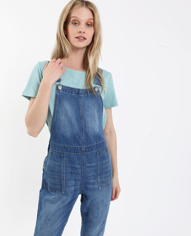 Salopette in jeans blu grezzo 486dbce189ac