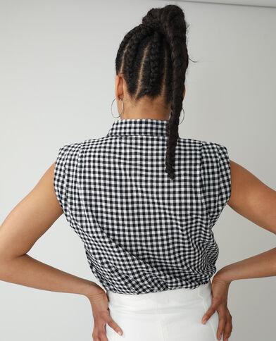 Camicia con spalline nero - Pimkie