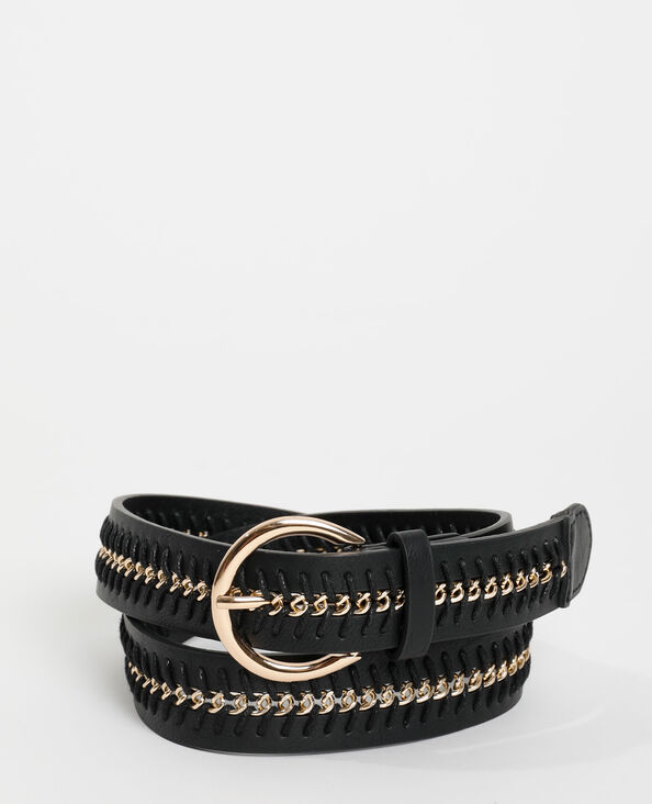 Cintura a catena nero - Pimkie