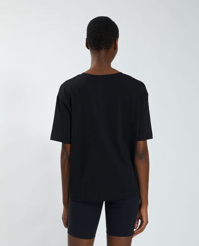 T-shirt oversize tigre nero - Pimkie