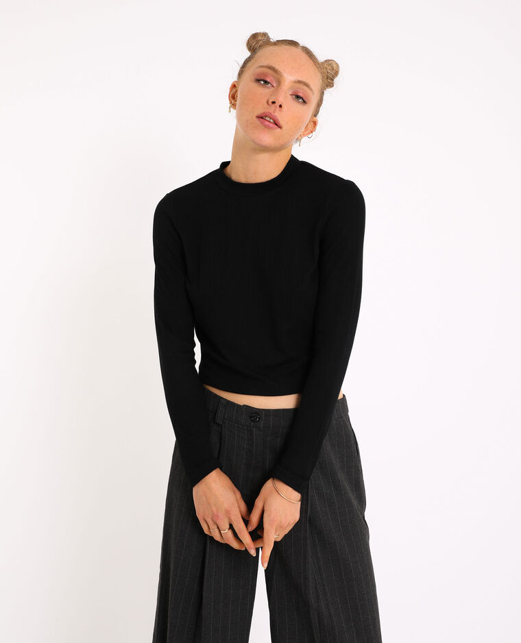 Top cropped nero