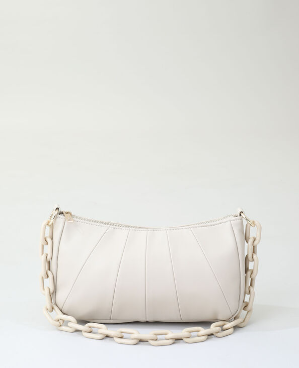 Borsa in similpelle marrone