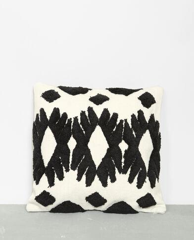 Federa per cuscino in stile berbero écru