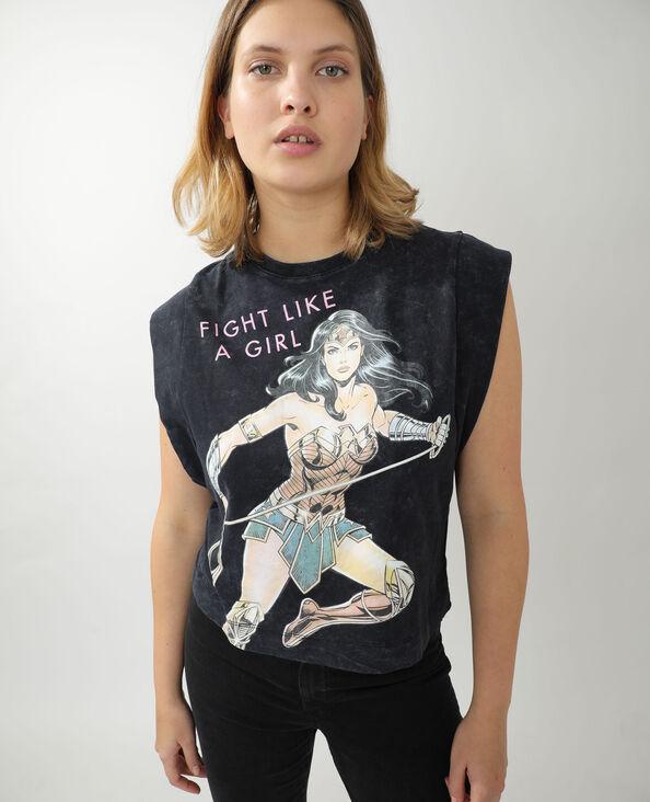 T-shirt Wonder Woman grigio scuro - Pimkie