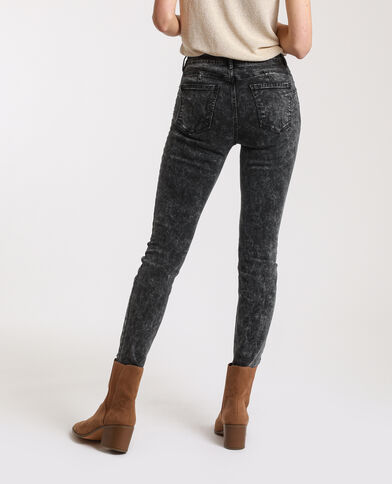 Jeans skinny push up grigio antracite