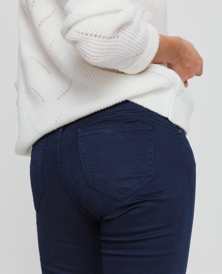 Skinny push up blu marino