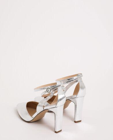 Sandali iridati grigio