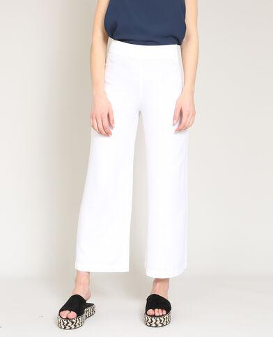 Pantalone largo bianco