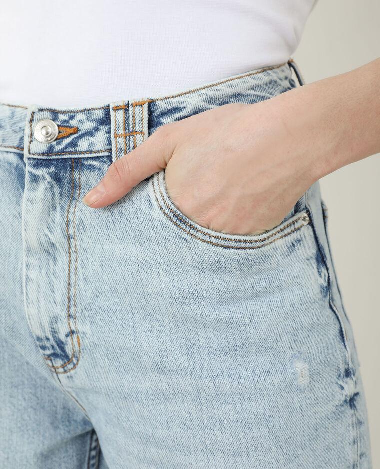 Jeans mom high waist blu chiaro - Pimkie
