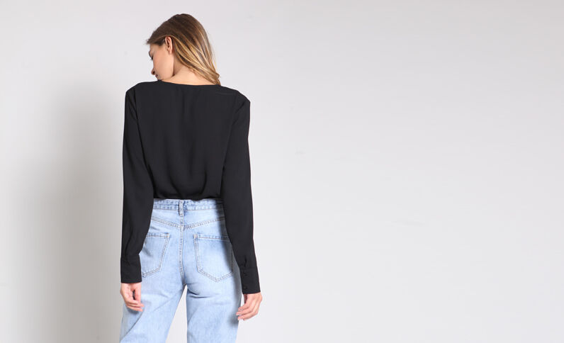 Body camicia nero