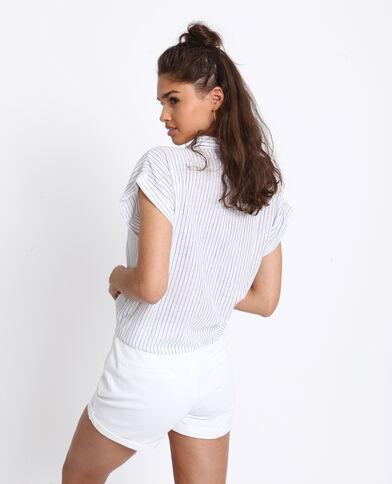861f0306be Camicia da annodare bianco sporco