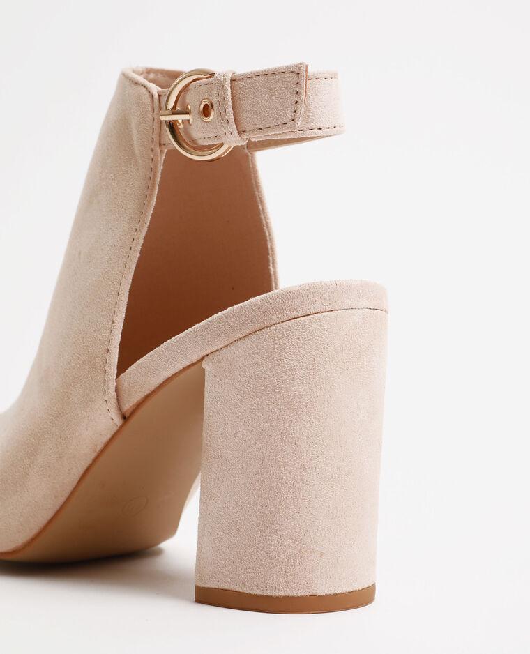 Sandali aperti rosa cipria