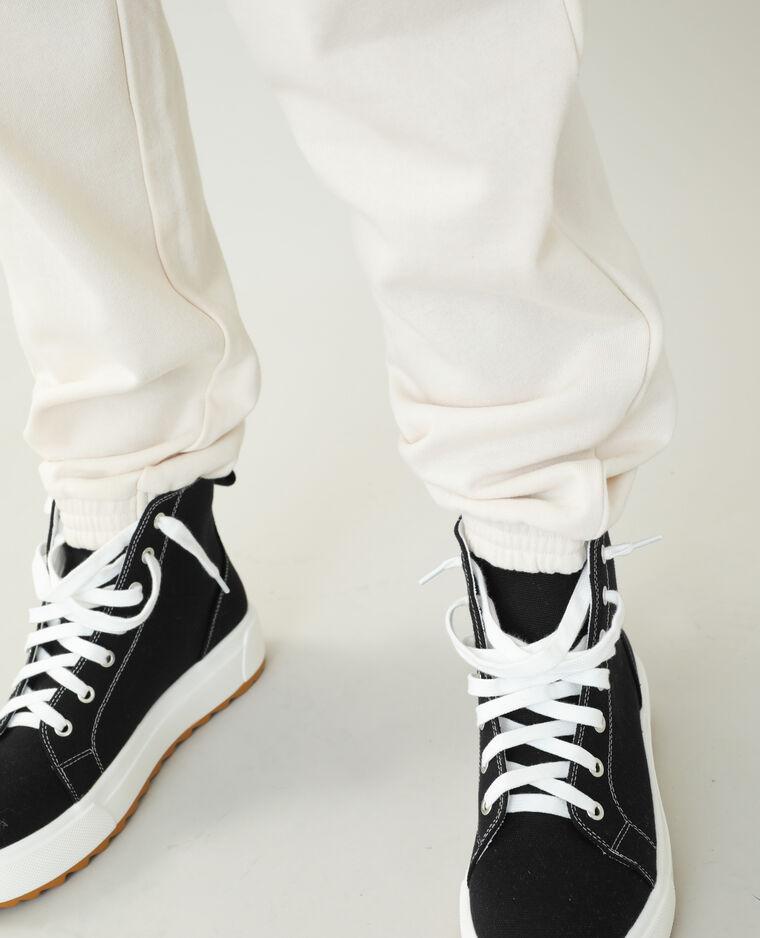 Pantalone da jogging beige - Pimkie