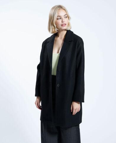 Cappotto lungo nero - Pimkie
