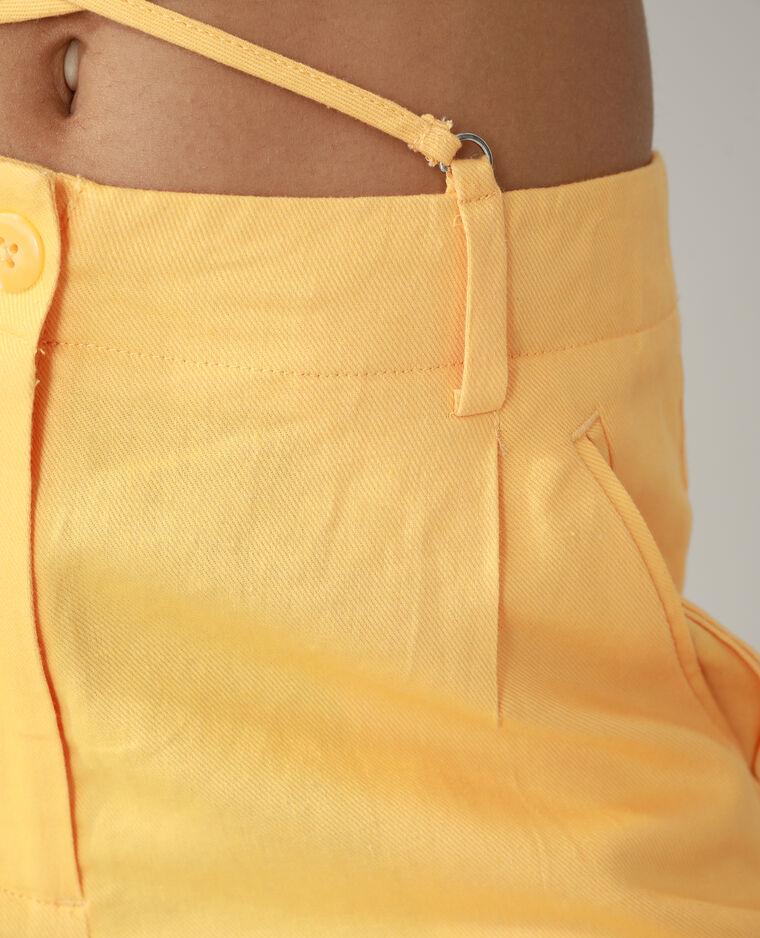 Pantalone wide leg high waist arancio - Pimkie